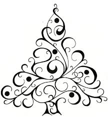 tree design for cards tree drawing