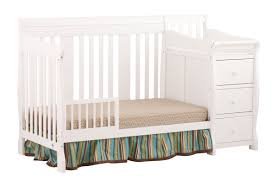 Cribs That Convert Into Toddler Beds by Storkcraft Portofino 4 In 1 Convertible Crib And Changer U0026 Reviews