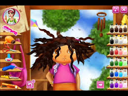 real haircuts games unblocked realistic hair styling games brilliant dora real haircuts game