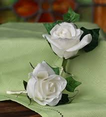 Boutineer Flowers Silk Rose Boutonniere Lapel Pins Corsage Boutonniere Supplies
