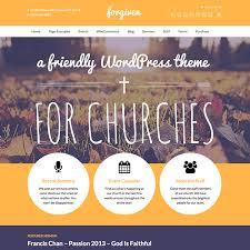 forgiven church theme wpexplorer