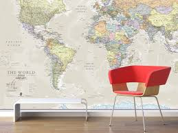 Map Home Decor Best 25 World Map Wall Decal Ideas On Pinterest Vinyl Wall