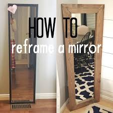 diy bathroom mirror ideas the 25 best redo mirror ideas on bathroom mirror redo
