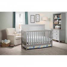 Fisher Price Newbury Convertible Crib Grey 4 In 1 Crib 4 Fisher Price Newbury 4 In 1 Convertible Crib