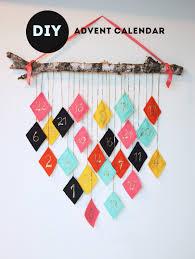diy modern advent calendar the sweet escape christmas diy