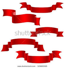 decorative ribbons set decorative ribbons isolated on stock vector 529665505