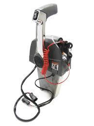 omc johnson evinrude single lever binnacle mount throttle control