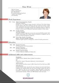 newest resume format new resume format 4 updated 2016 nardellidesign