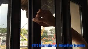soundproofing window seals noiseblock isoseal v2 youtube