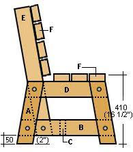 Wooden Garden Bench Plans by Garden Seat Side Elevation I Wonder If I Could Do This Good