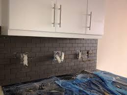 lowes subway tile backsplash amys office