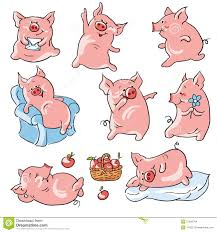 cartoon pigs stock images image 27635764