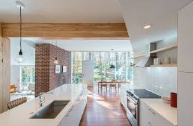 Opening Up A Galley Kitchen Before And After Before And After This Midcentury Modern Masterpiece Underwent A