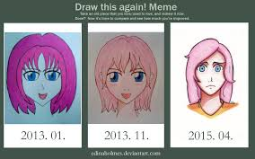 Before And After Meme - before and after draw this again meme by edinaholmes on deviantart