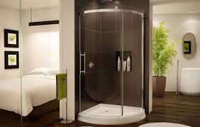 Corner Shower Stalls For Small Bathrooms by Shower Corner Shower Enclosures Beautiful Round Corner Shower