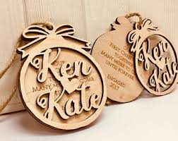 personalized wedding ornament mr and mrs ornament etsy