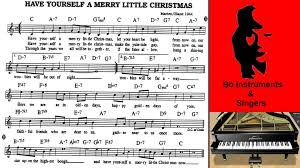yourself a merry 70 bpm sing play along bb