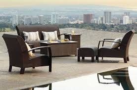 modern frontgate outdoor furniture pacifica modern lines enhance