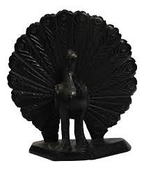 peacock home decor wholesale bulk wholesale 6 4 u201d black color dancing peacock statue sculpture
