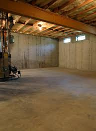 concrete basement flooring and repair in bangor portland