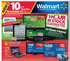 walmart black friday 2012 sales ad early thanksgiving opening