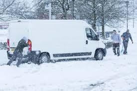 Snow Scotland Avoid Travel Government Warns Scots Ahead Of Heavy Snow Tonight