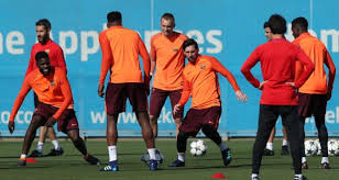 Lionel Messi Leg Barcelona Reliant On Lionel Messi As Roma To The Nou C