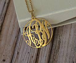 Personalized Monogram Necklace Opersonalized Com Monogrammed Necklace Review U2013 Overstock Tiffany