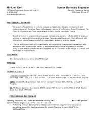 T Sql Resume Don Minkler 2015 Resume