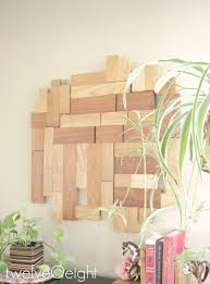Diy Modern Home Decor by Diy Scrap Wood Wall Hanging Twelveoeight