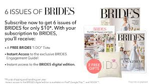 brides magazine brides magazine subscription