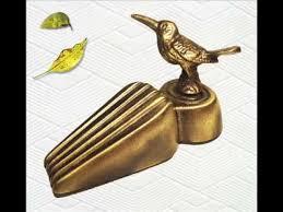 Decorative Door Stopper Brass Decorative Hummingbird Door Stopper Antique Bronze Finish