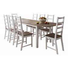 Dining Room Table With 8 Chairs Canterbury White Dining Table With 8 Chairs Noa U0026 Nani