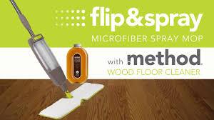 Laminate Floor Spray Flip U0026 Spray Microfiber Spray Mop Youtube