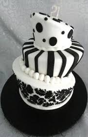 yellow black and white 21st cake cakes black and yellow