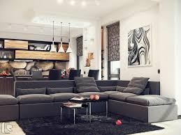 gray couch design ideas fabric sofa melamine fruit bowl black