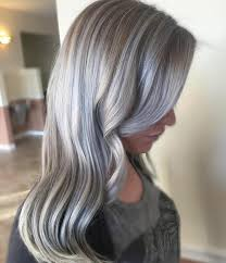 blonde hair with silver highlights 40 shades of grey silver and white highlights for eternal youth
