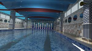 indoor pool for 3d model cgtrader