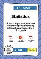 year 5 u2013 line graphs statistics week 6 7 inc mastery by