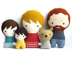 handmade personalized rag doll plush custom doll