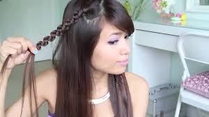 tutorial menata rambut panjang simple rambut kepang bentuk ular vidio com