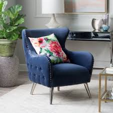 nailhead trim accent chairs hayneedle