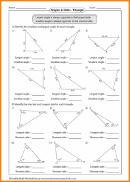 finding the missing angle of a triangle worksheet all worksheets similar triangles worksheets free printable
