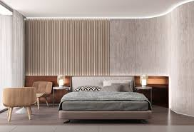 curved wood wall bedroom designs bedroom accent wall curved wall partial slats