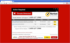 Red Flags Of Abuse Tech Support Scammers Lure Users With Fake Norton Warnings Turn