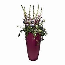 Silk Flower Plants - foxglove plant u0026 spring flowers faux arrangement pink tall pot