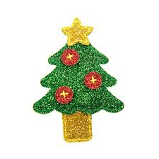 christmas hair accessories glitter christmas collection hair clip