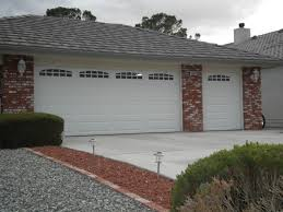 elegant white paint color to decorate lavish standard garage door