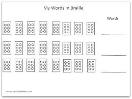 Alphabet Blind Lego Braille Alphabet Three Blind Mice Stem Activity