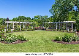 Botanical Gardens In Illinois Rotary Botanical Gardens In Janesville Illinois Stock Photo